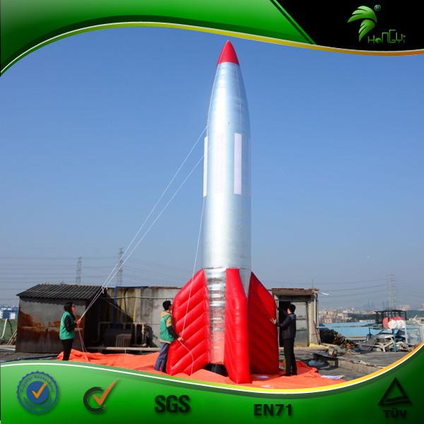 Giant Inflatable Rocket,โฆษณา Inflatable Rocket จาก Hongyi,Inflatable บอลลูนจรวด
