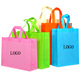 Factory wholesale laminated reusable non woven fabric tote carry shopping bag