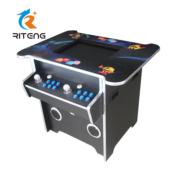 Funny game 60 in 1 2 player 22 inch LCD cocktail arcade game machine for sale