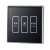 Curtain Switch Glass Touch Press Wall Panel For Electric Motorized Curtain Blind Roller Shutter Smart Home System Automation