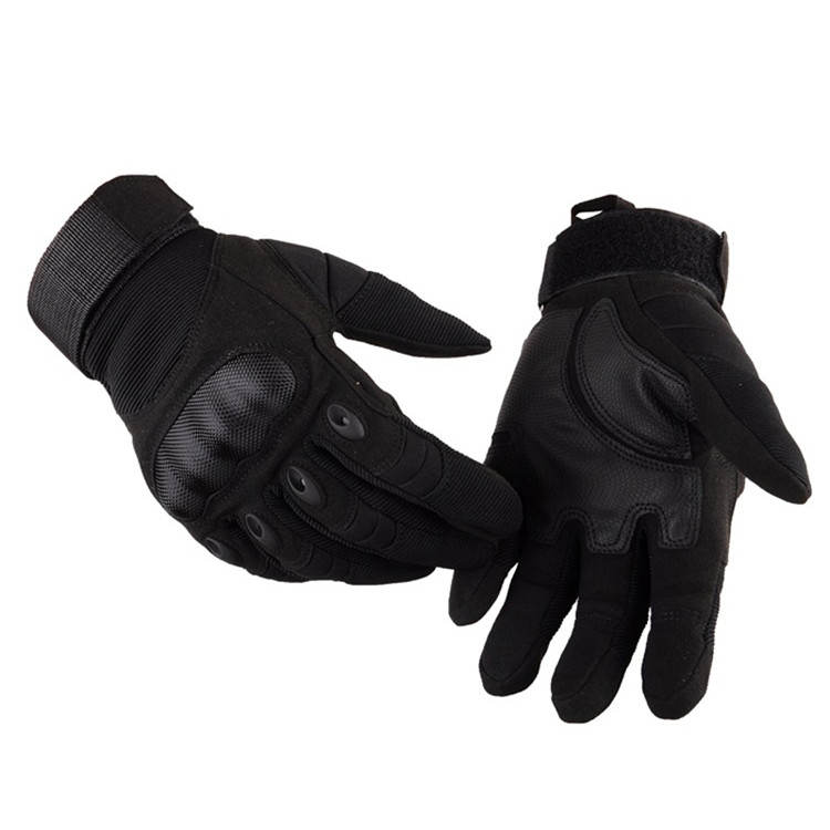 Outdoor Climbing Army Shooting Combat Full Finger Military Mens Tactical Gloves