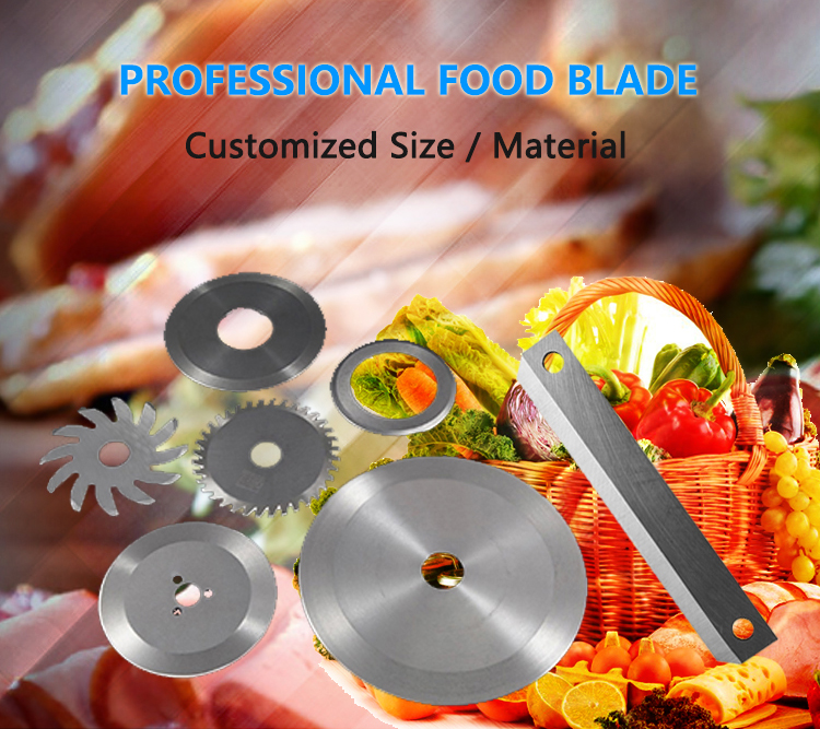 Factory Price Stainless Steel 420/440B Meat Cutting Circular Blade