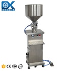 Pneumatic Liquid -liquid Filling Machine Pneumaticpneumatic Semi Automatic Pneumatic Liquid -Liquid CBD Small Bottle Essential Shampoo Oil Filling Machine