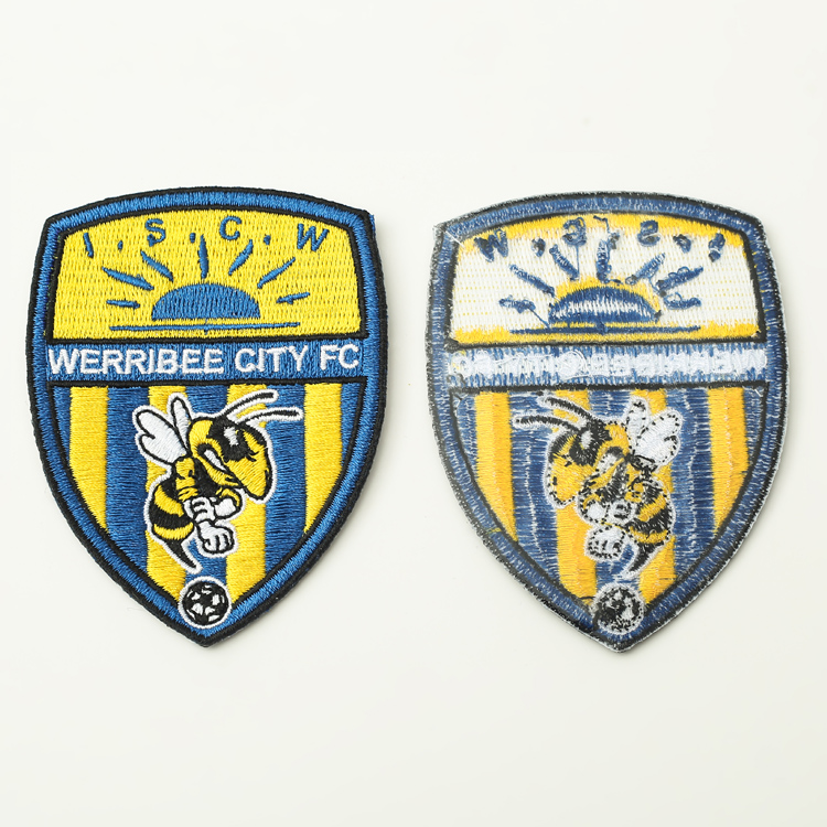 Custom Factory Direct Embroidery Textile Patches Custom Embroidery 3d Patches