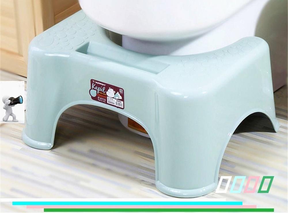 Manufacturer plastic squatty potty toilet stool 7