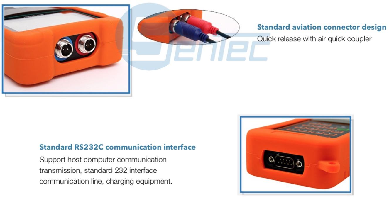 FMU830 portátil de mano en línea de flujo ultrasónico