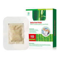 Best seller ! bamboo vinegar detox pads foot patch, detox foot patch (OEM / ODM service for your own brand)