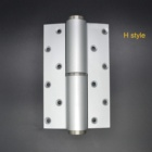 H style aluminium soft-closing hydraulic door closer hinge