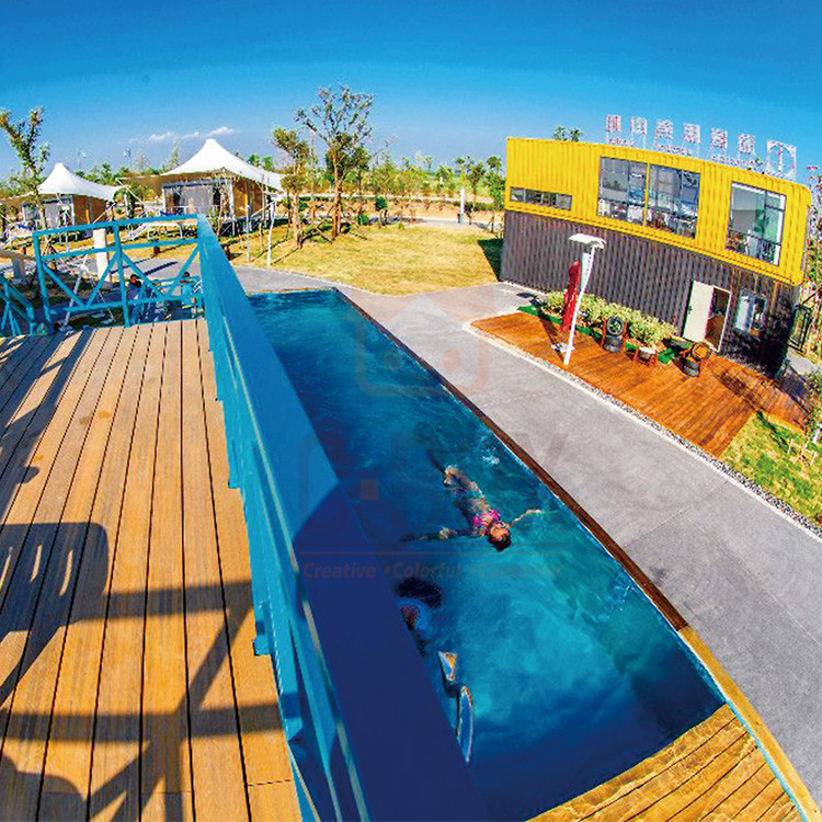 container swimming pool case