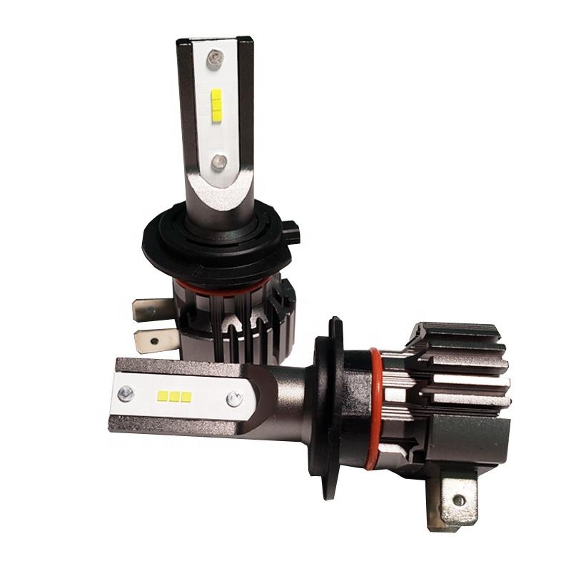 Hot sale Fanless faro B7 CSP Chip H7 Car LED Headlight Fog Light 50W avto headlamp tuning accessories H1 H8 H11 9005 9006 H27