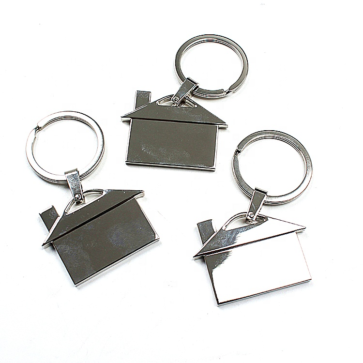 Electroplating Services Custom Named Logo Metal Keychains for Gifts