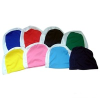 Cheapest 100% Polyester Swim Cap Swimming Cap With Customized Logo Printed