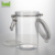 Manufacturer high quality 750ml sealed plastic jar with stainless steel clip lid