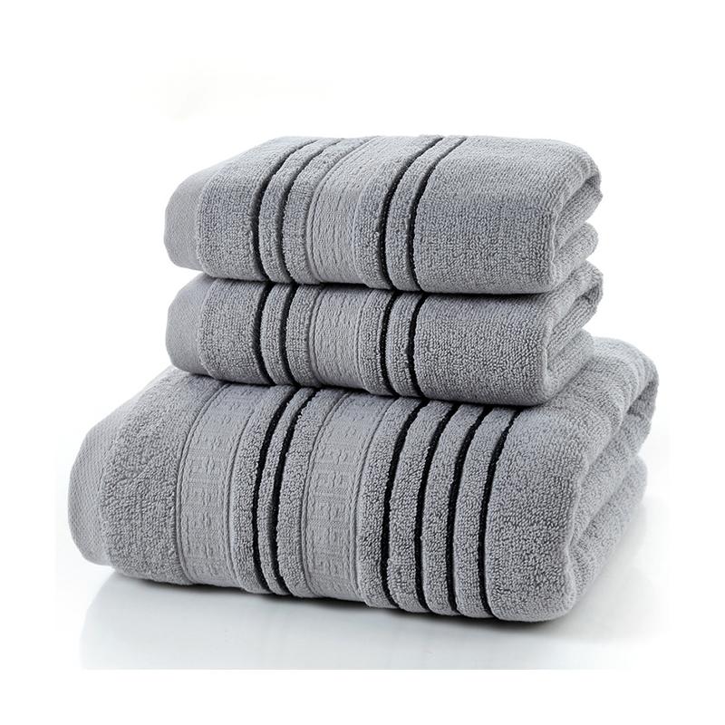 Promoção por atacado de Boa Qualidade Cor Sólida Toalhas de Banho 100 Algodão Toalhas de Hotel com Logotipo Personalizado