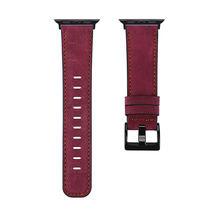 Винтажный кожаный ремешок для apple watch, ремешок для iwatch 1/2/3, 38 мм, 42 мм, iwatch 4/5, 40, 44 мм, ремешок для часов, аксессуары для браслета(Китай)