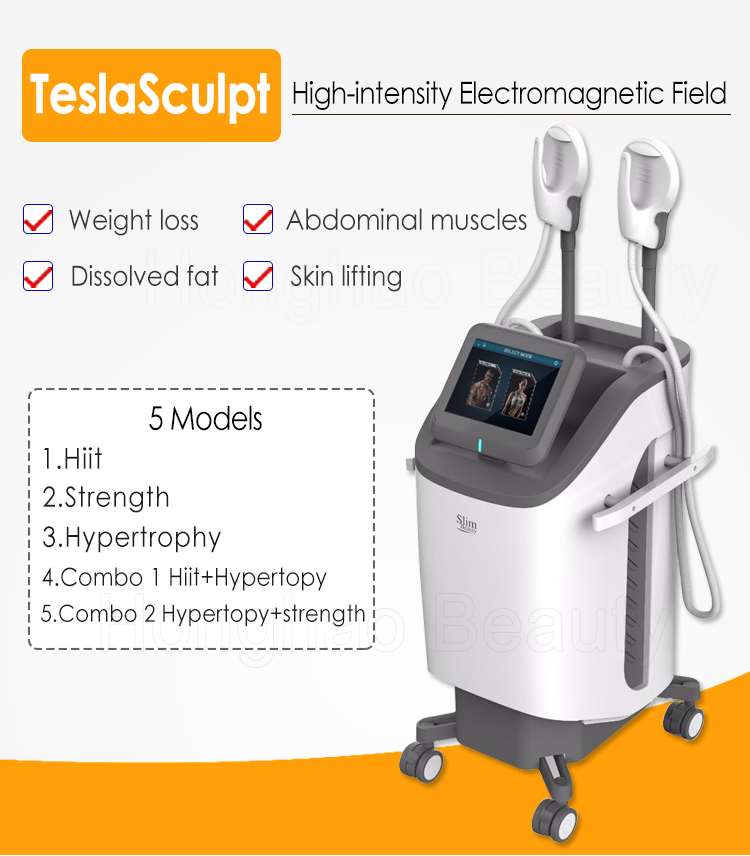 New arrival body building machine emsculpting muscle emslim machine for sale