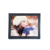 Thin 12 Inch Plastic Digital Photo Frame with Wall Mount Holes