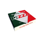 Custom printed eco friendly plain cardboard 8 inch pizza box