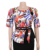 2020 Turkey Women Office Dresses Medium Long Print Plus Size Woman Two Dresses FM-98126