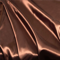 Elastic stretch polyester silk crepe bride dress fabric satin price
