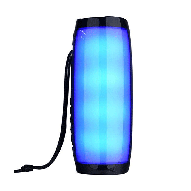 Colorful Outdoor Waterproof LED Light High Quality Subwoofer Logo Customized Portable <strong>Wireless</strong> <strong>Bluetooth</strong> <strong>Speaker</strong>