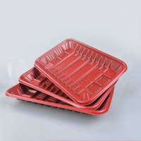 Food Grade Free Samples Bulk Packaging Disposable Takeaway Holiday Using Plastic Plate Set With Cheaper Price