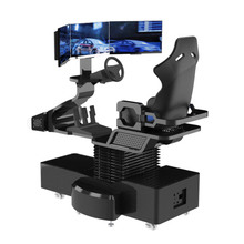 Super Virtual Reality Racing Dynamische 9D Vr Auto Rijden Stoel Voor Game Simulator Amusement Center Drie Screen Auto Simulator