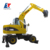 High performance hydraulic wheel excavator in China with good price