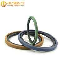 PG4400400 Double acting seal bronze filled ptfe Glyd Ring comes with an O-Ring piston seal