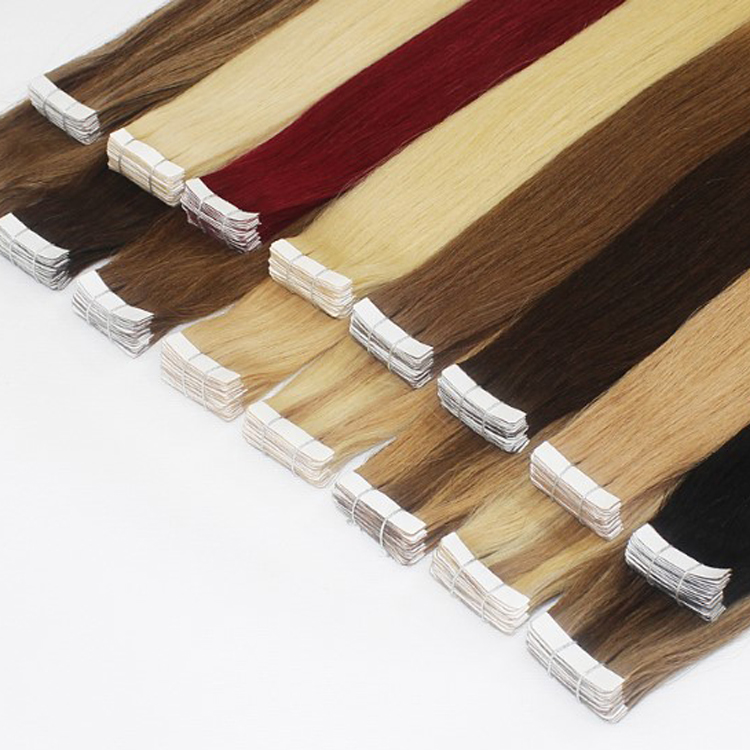 Aliexpress China Cheap Price 100% Human Virgin Peruvian 32 inches tape human hair extensions