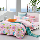 4PCS Luxury Bed Cover 100% Cotton Hotel Bed Sheet Bedding Set