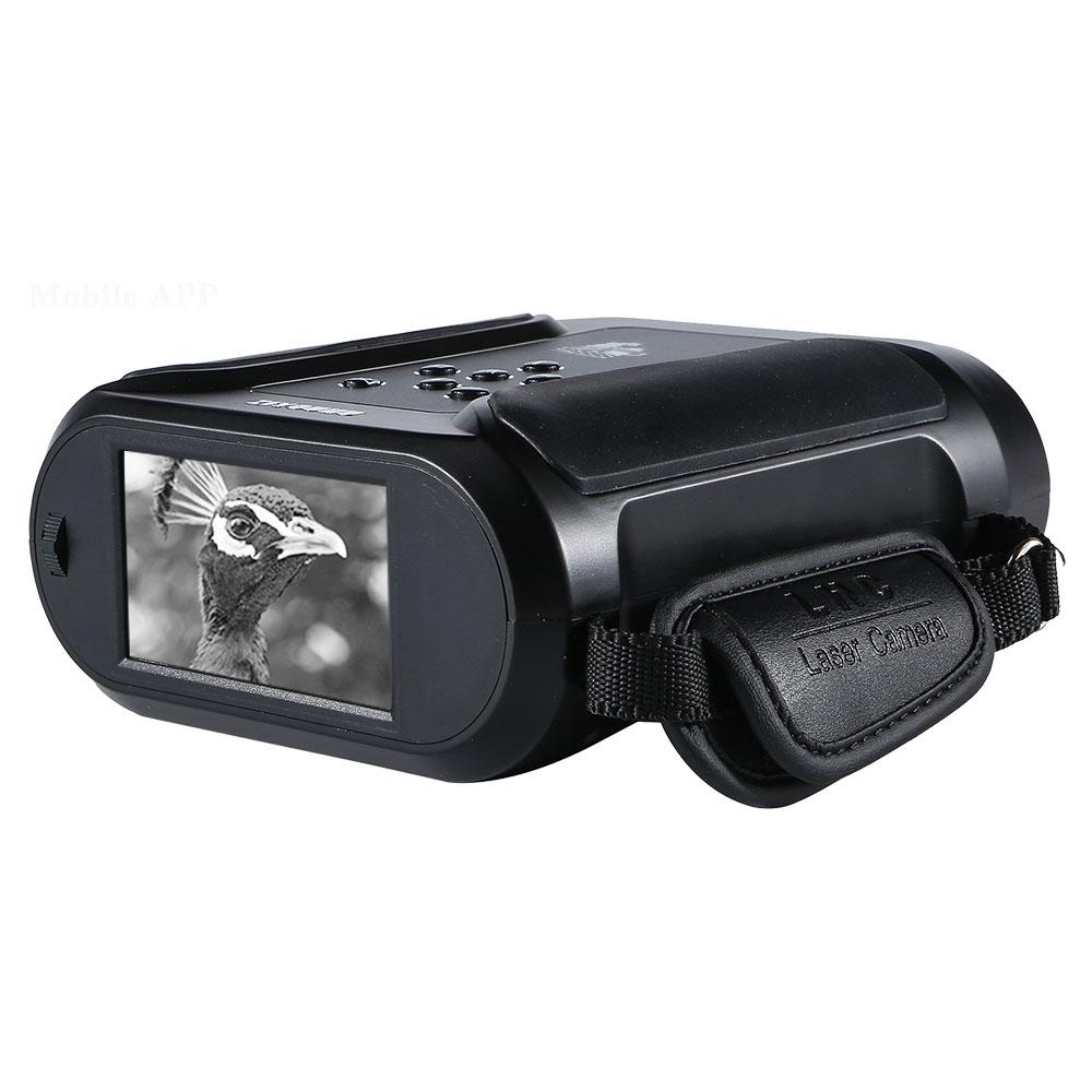 HD лазерный монитор ночного видения широкоформатный 40X зум цифровой прибор ночного видения изображения видео записи 940nm ИК камера охотничья область