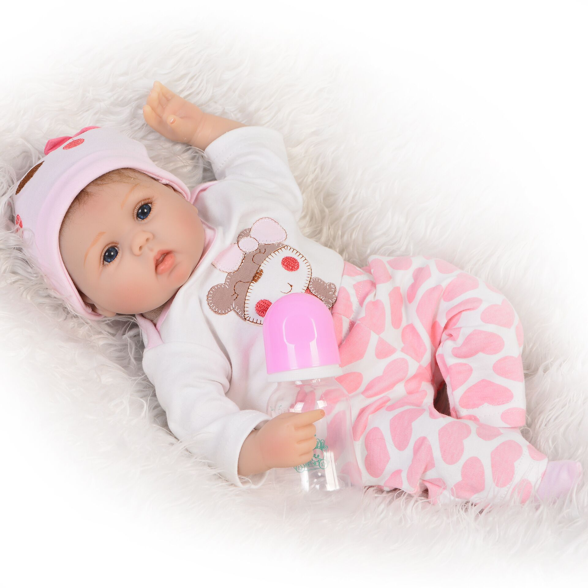 real full body silicone baby bonecas bebe reborn baby doll