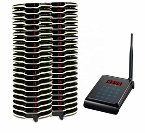 Intelligent coaster pager wireless restaurant table calling system