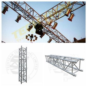 E52-QS12 aluminum truss concert stage truss , used truss equipment for sale