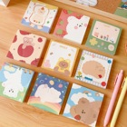 Custom Print Cartoon Personalized Sticky Memo Notes Pad For Office