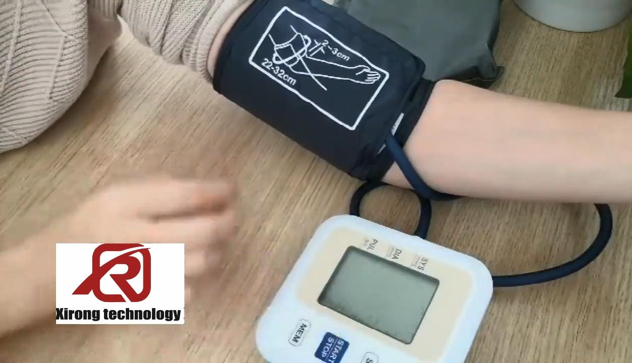 Сфигмоманометр Xirong, тонометр на руку, автоматический цифровой прибор для измерения артериального давления, забота о здоровье