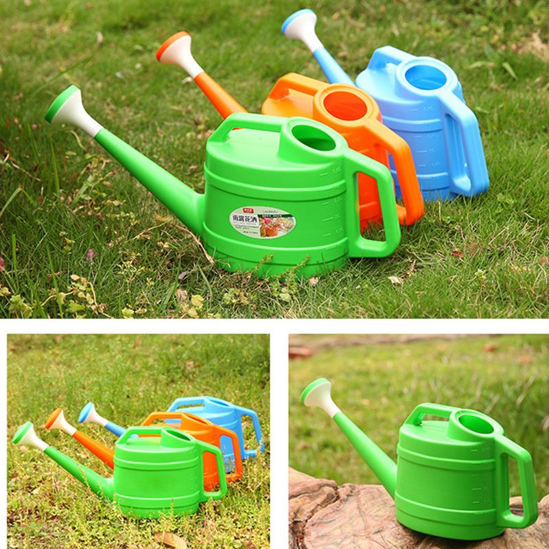 plastic watering can Long mouth garden spray bottle Plastic water pot