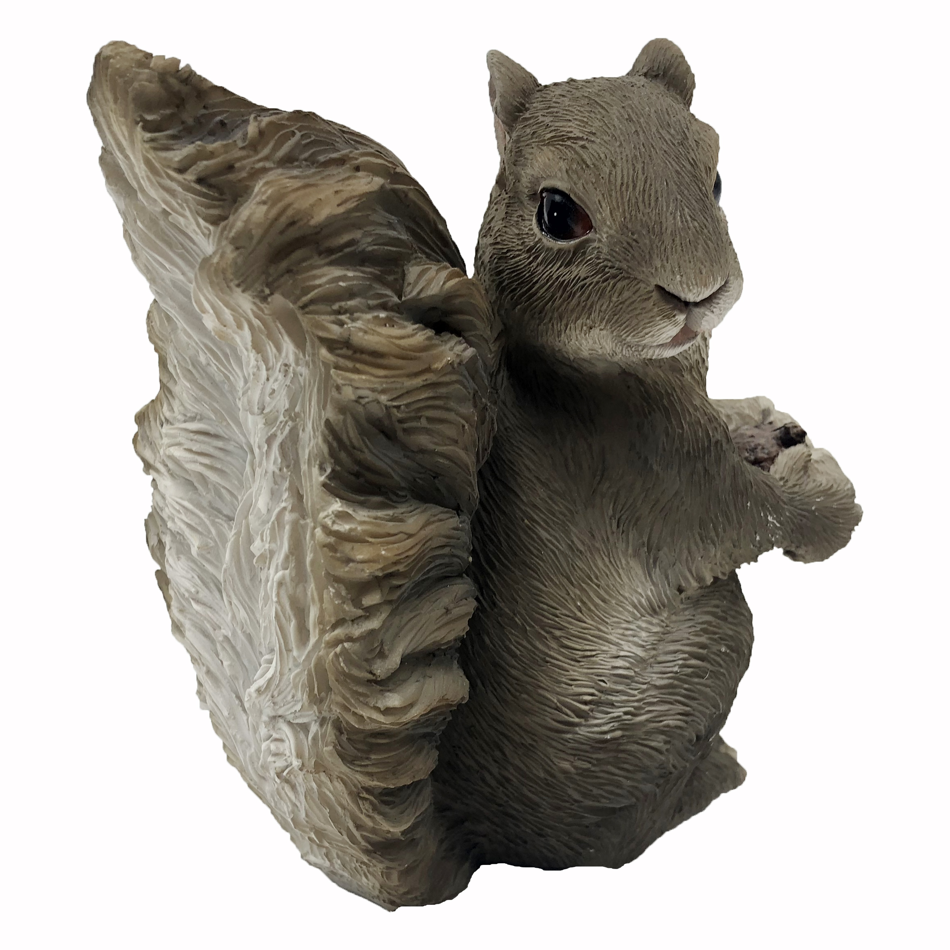 Outdoor Garden Resin Animal Gift Ornament Hanging Decor Pair Lovely Squirrel