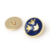 zinc alloy metal shank buton/loop button for coat