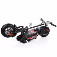 2019 hot selling 1600w 48v 2 wheel folding evo electric scooter with CE for adults