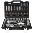 Wrenches [ Tool ] Germany Tool Set 94PCS Germany Mechanic Professional Socket Wrench Set Bicycle Repair Auto Kits Box Car Tool Set