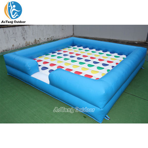 Funny Outdoor Inflatable Interactive Twister Game for sale