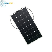 Ocean Solar Factory Production Sunpower Cells 100W Mono Etfe Flexible Solar Panel