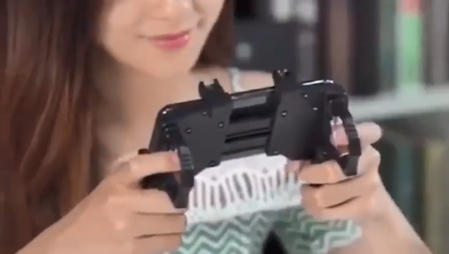 Best selling  Gamepad mobile controller shooting game mobile controller 4 finger sleeves