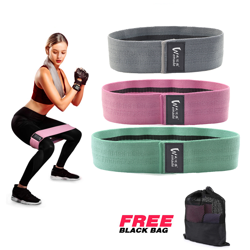Exercise Latex Loop Resistance Custom Printed Elastic Bands