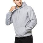 Custom Gym Sweatshirt Sports Hoodie Plain Oversize Pullover Fleece Cotton Polyester Hoodies for Men