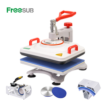 Freesub 8 in 1 combo warmte persmachine cup mok <span class=keywords><strong>t-shirt</strong></span> <span class=keywords><strong>drukmachine</strong></span> cap <span class=keywords><strong>t-shirt</strong></span> sublimatie machine