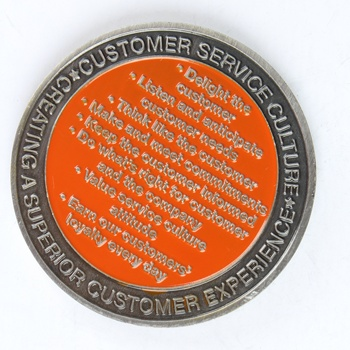GFT cheap custom metal challenge coin