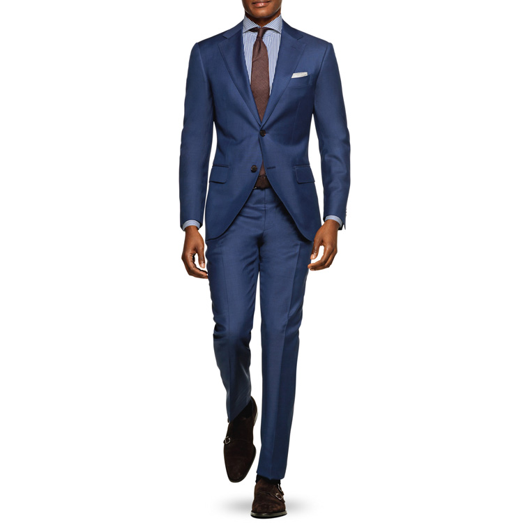 slim classic MTM costume made autumn UK US business elegant Italian <strong>formal</strong> jacket pants <strong>suit</strong> men